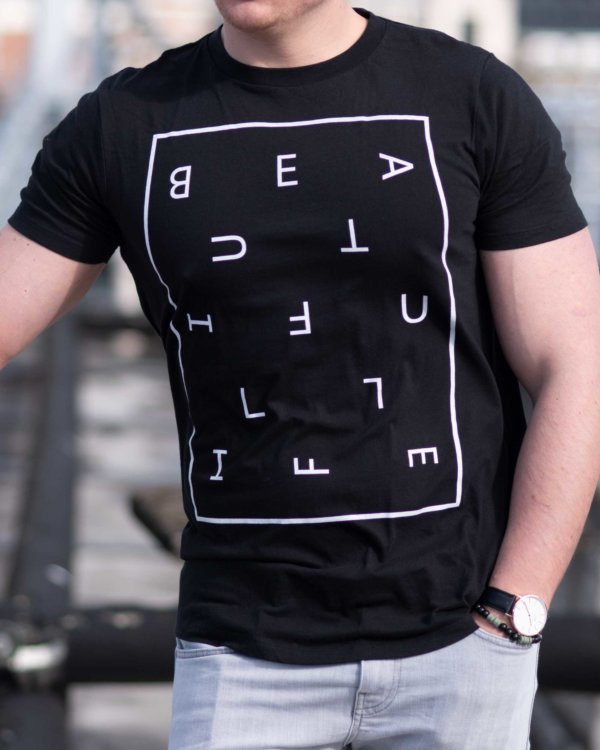 BEAUTIFUL LIFE Long Men's T-Shirt